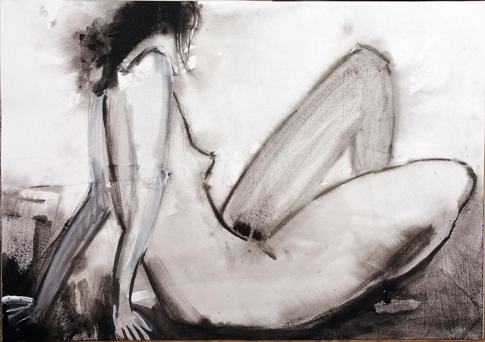 Эротические картины голых в стиле ню  картина обнаженной